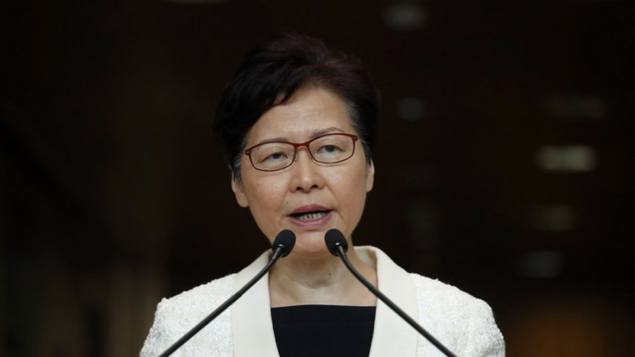 Hong Kong Leader Carrie Lam Claims US-Hong Kong Human Rights Bill is 'Foreign' Interference