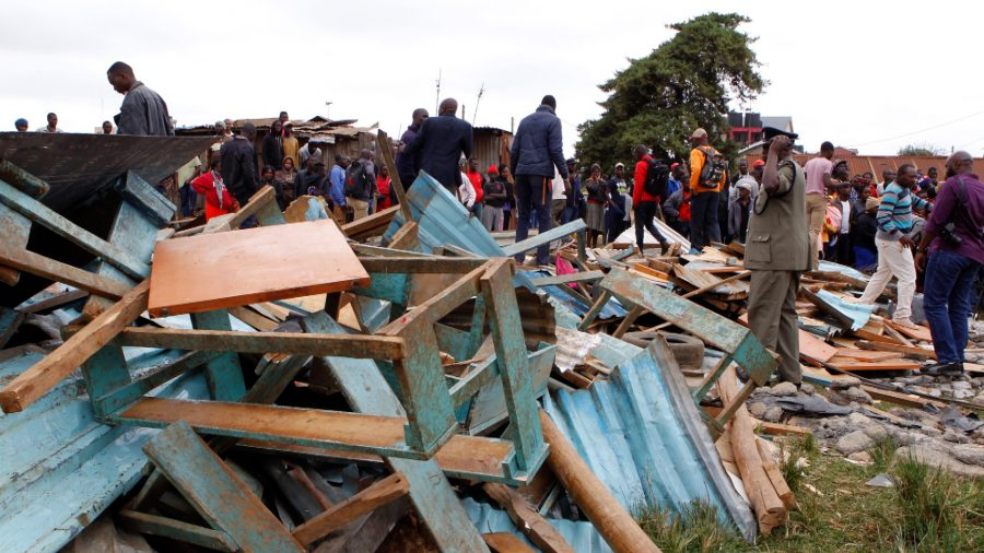 At least seven children killed in Kenyan classroom collapse