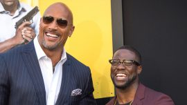 Kevin Hart 'Doing Very Well' According to the Rock
