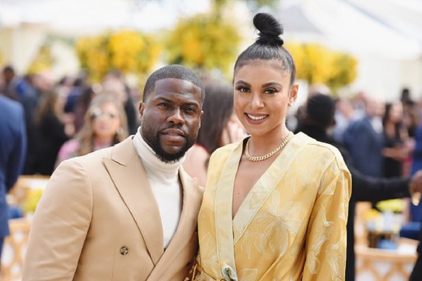 Kevin Hart and Eniko Parrish attend 2019 Roc Nation THE BRUNCH in Los Angeles,