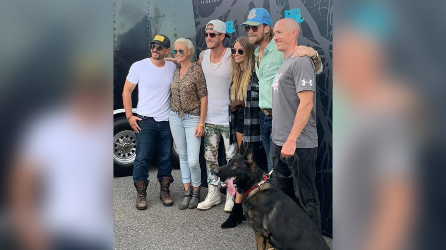 Country Band Florida Georgia Line Donates New K-9 to Indianapolis Police