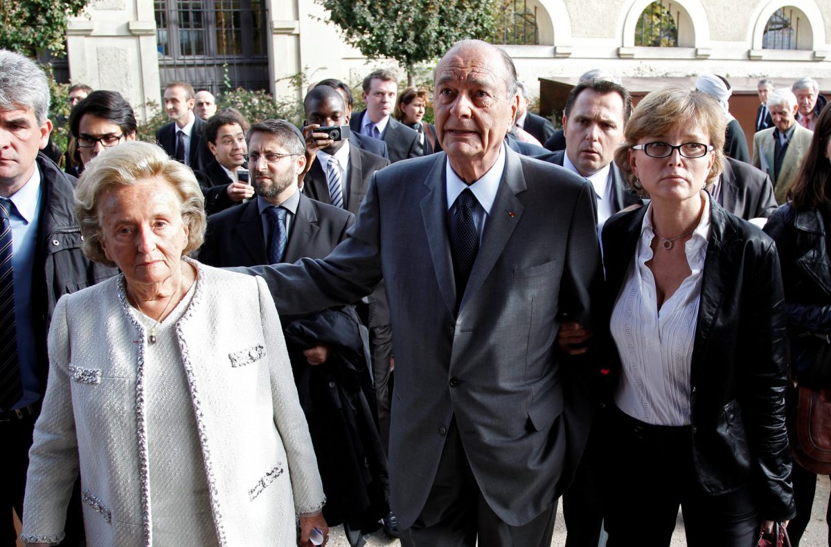 Former French president Jacques Chirac 1