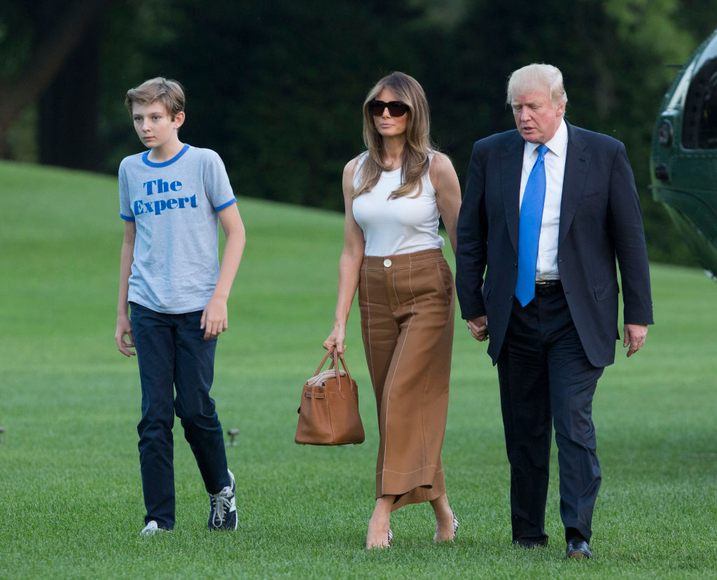 First Family Arrives At The White House