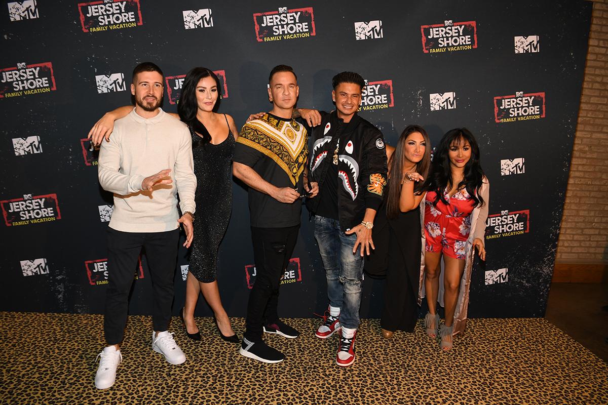 "MTV's ""Jersey Shore Family Vacation"" New York Premiere Party."