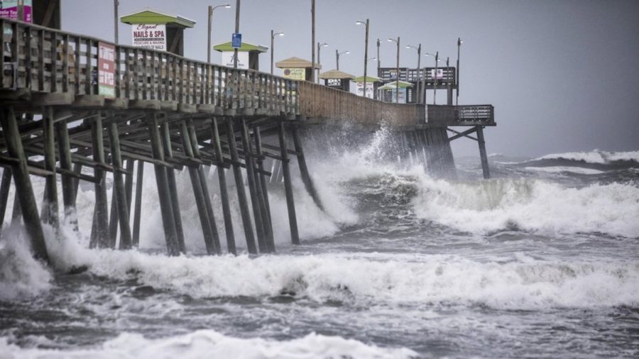 Hurricane Dorian Makes Landfall, Floods Homes on North Carolina Coast