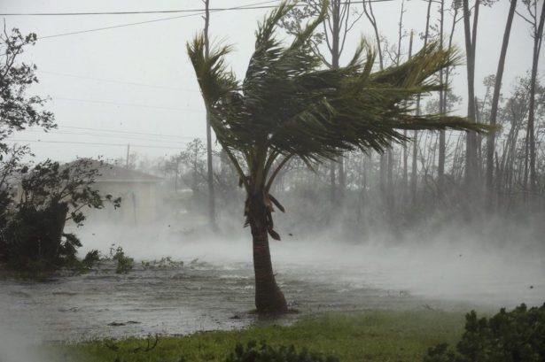 Hurricane Dorian in Bahamas
