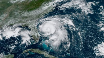 Humberto Strengthens to Category 1 Hurricane After Moving Farther East Into the Atlantic