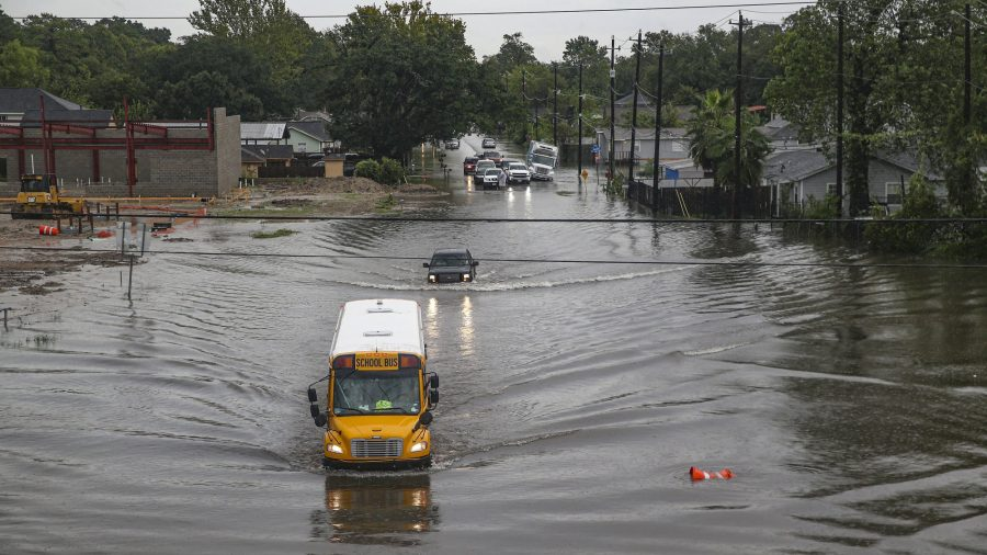 Barges Break Loose and Strike a Bridge Near Houston After Imelda Forces 400 Water Rescues, Strands 300 Drivers