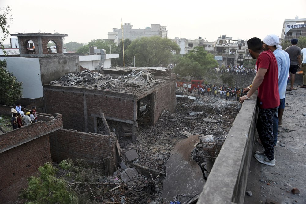 India Fireworks factory explosion 5