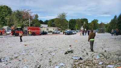 Propane Explosion Kills Firefighter, Injures 6 Others