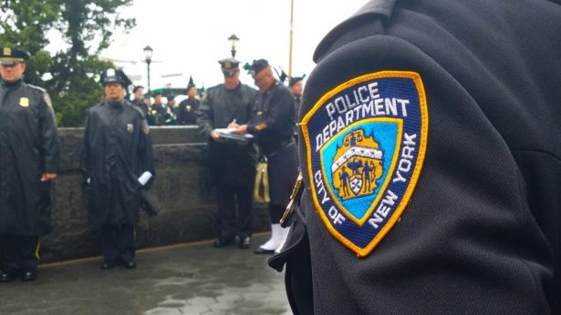 NYPD Emblem on Shoulder