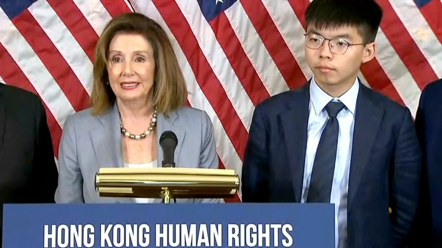 Pelosi, Bipartisan Lawmakers Throw Weight Behind Bill to Support Hong Kong Protests