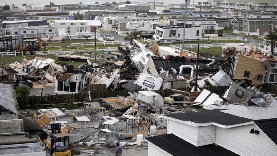 Hurricane Dorian Rakes the Carolinas, Damages Reported