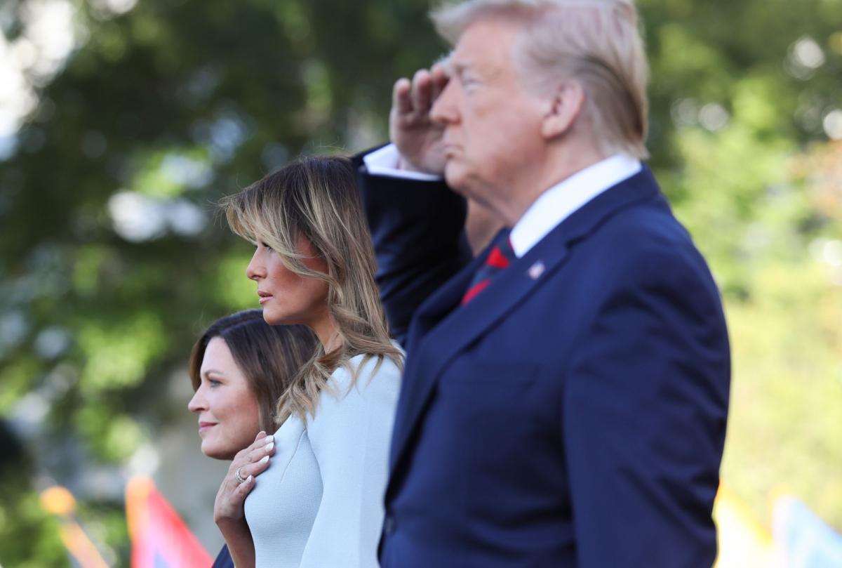President Trump and Melania
