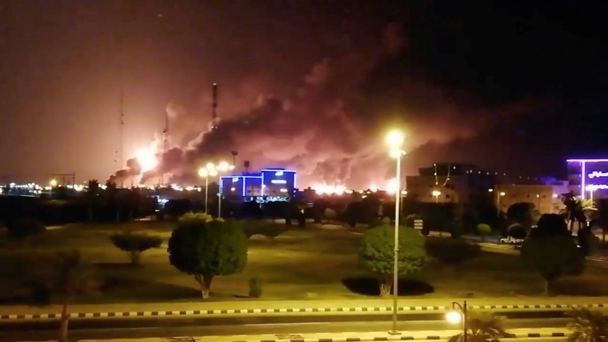 Saudi Aramco drone attack