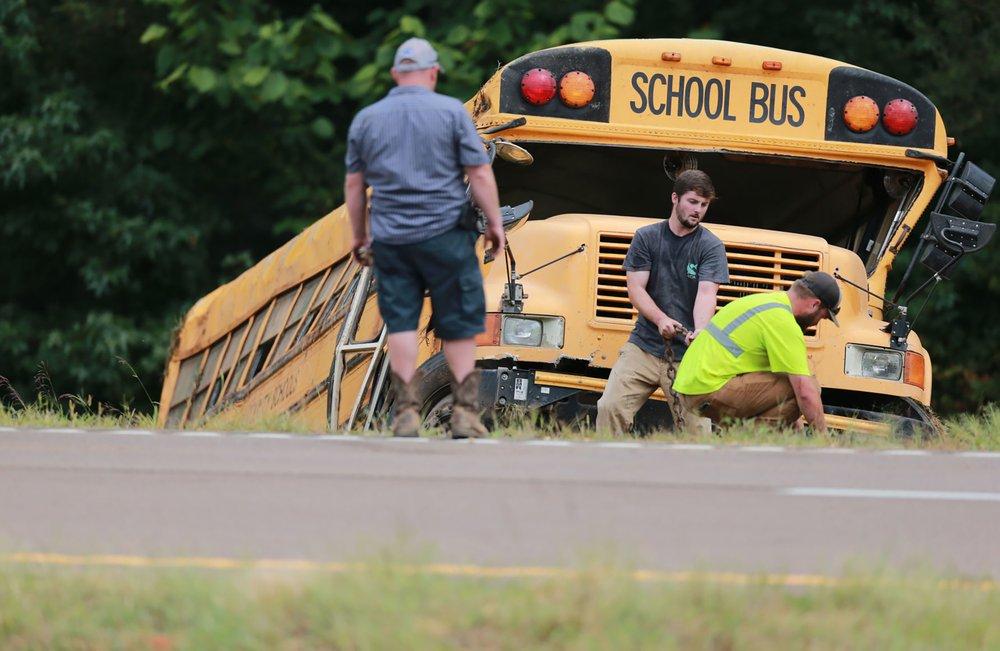School bus accident Mississippi 2
