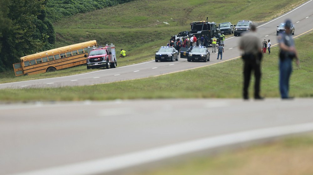 School bus accident Mississippi 3
