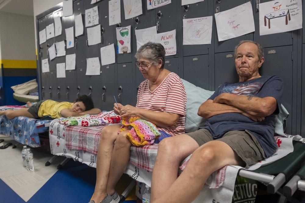Shelters for Hurricane Dorian
