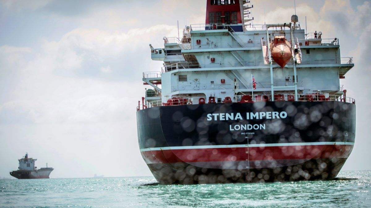 Stena Impero's 23 tanker 1