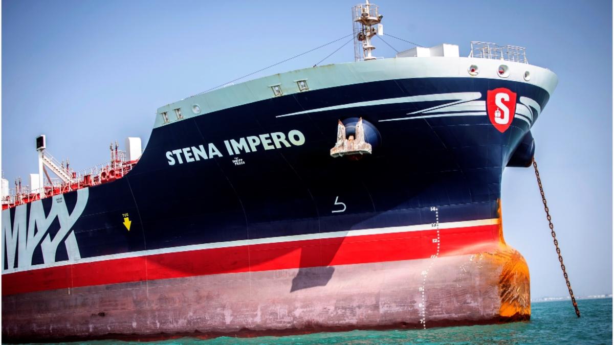 Stena Impero's 23 tanker 2