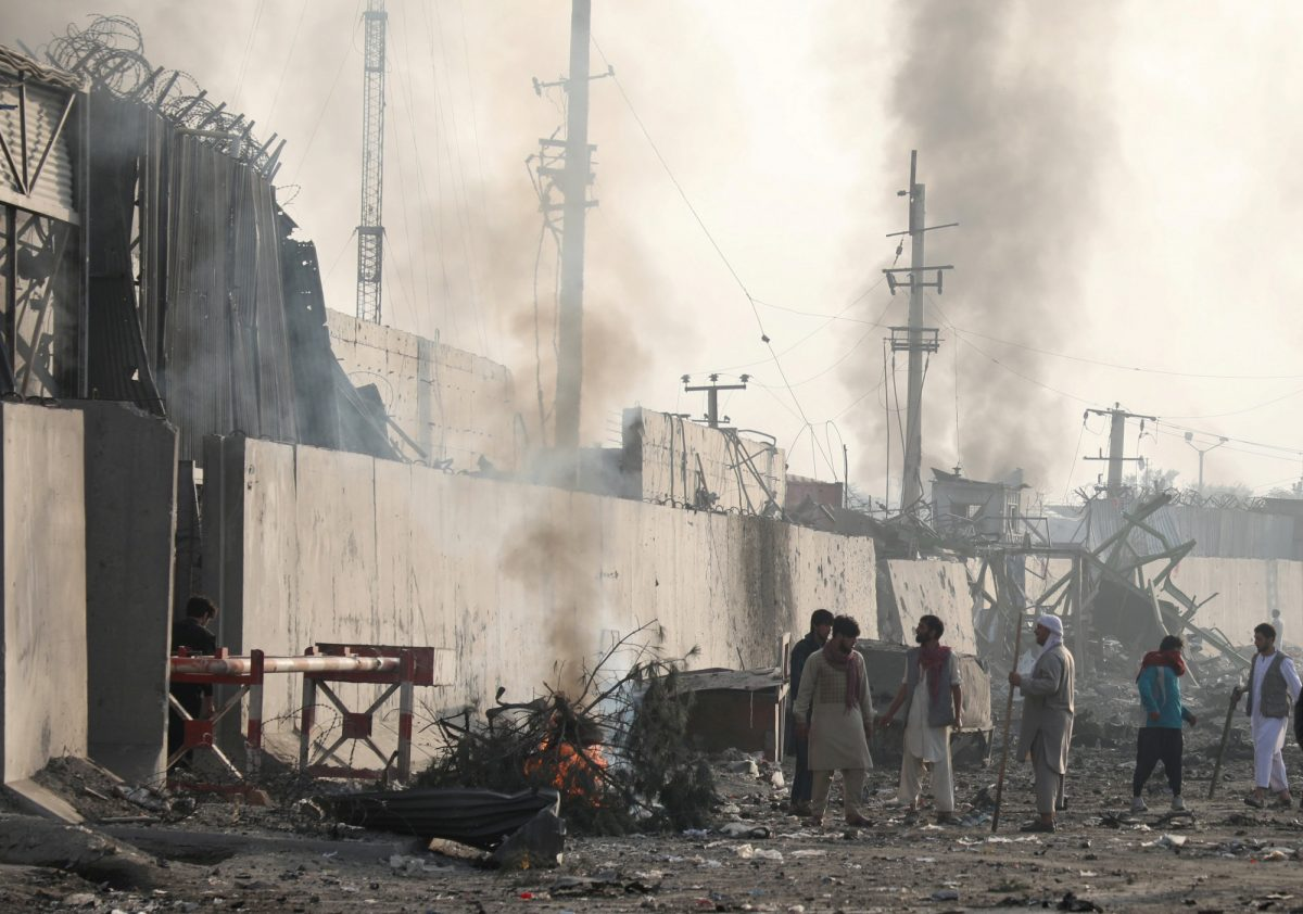 Taliban attack Afghanistan 1