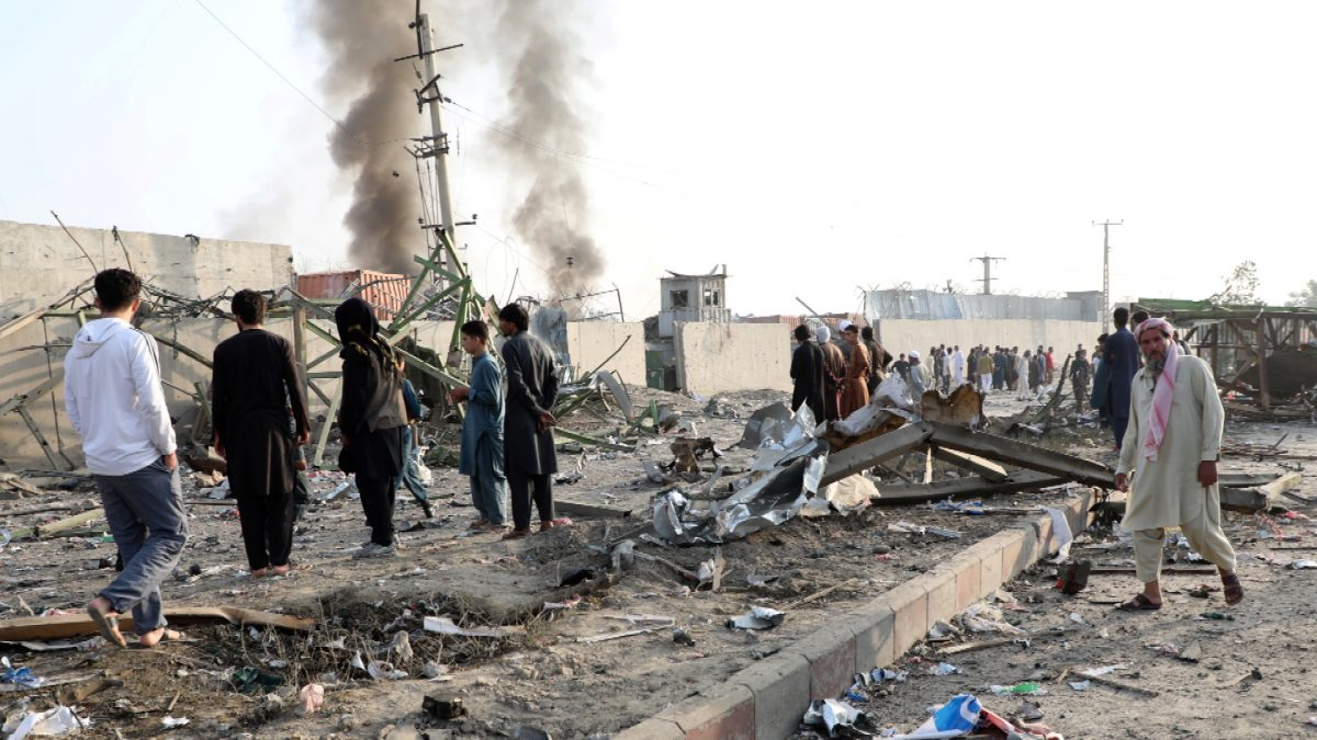 Taliban attack Afghanistan 2