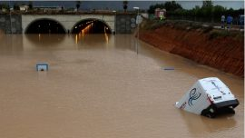 4 Dead, 2 Airports Closed as Torrential Rains Hit Southern Spain