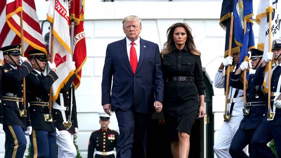President Trump, First Lady Participate in Sept. 11 Observance Ceremony