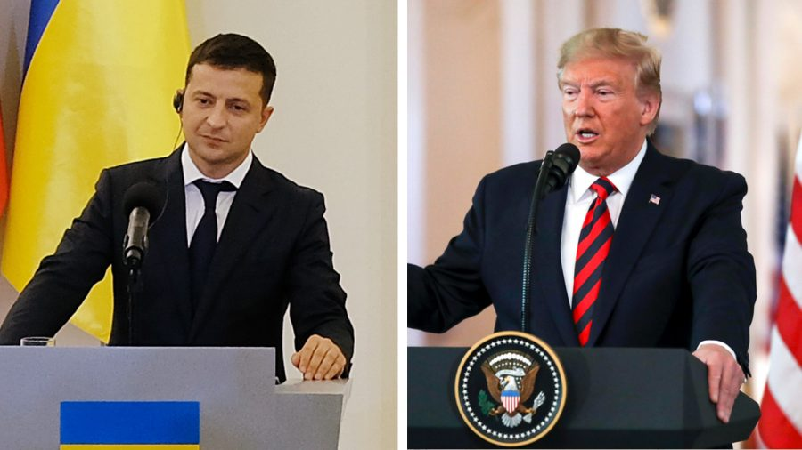 Ukraine's President Says 'No Blackmail' Happened in Phone Call With Trump
