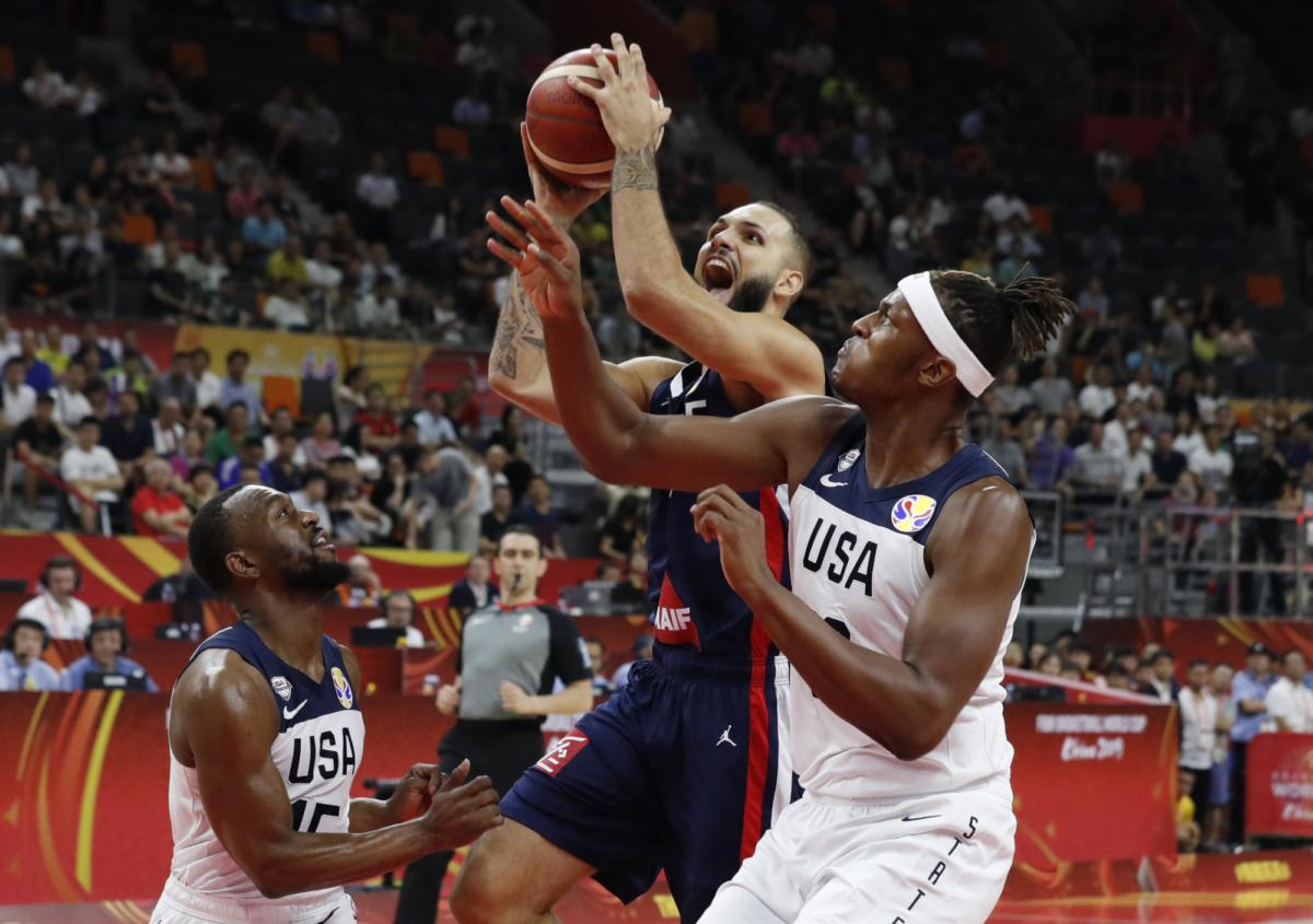 USA vs France basketball