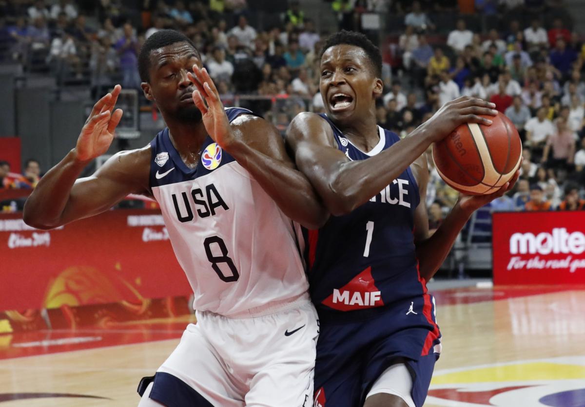 USA vs France basketball 6