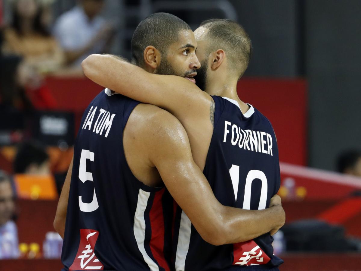 USA vs France basketball 99