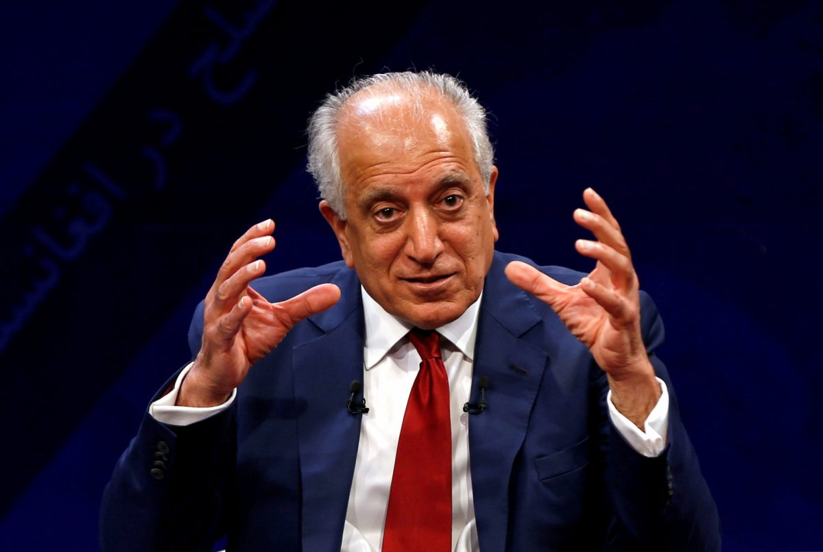 Zalmay Khalilzad peace talks