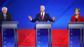 Biden Clashes With Warren and Sanders Over Medicare for All: 'How We Gonna Pay for It?'