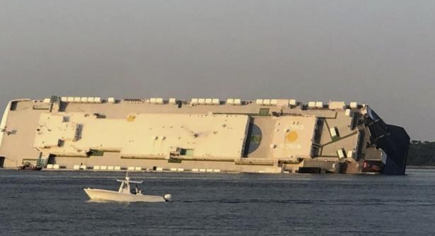 Coast Guard Drills Through Hull: 4 'OK' Inside Cargo Ship