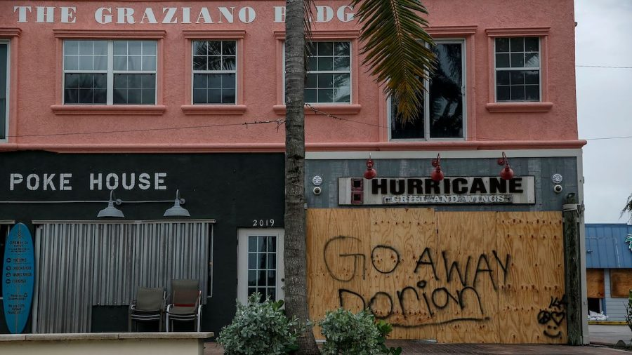 Florida Woman Wraps Her House in Plastic to Protect It From Hurricane Dorian