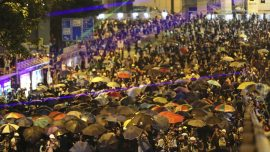 'We Are Back': Hundreds of Thousands of Hongkongers Mark Anniversary of 2014 Mass Protests