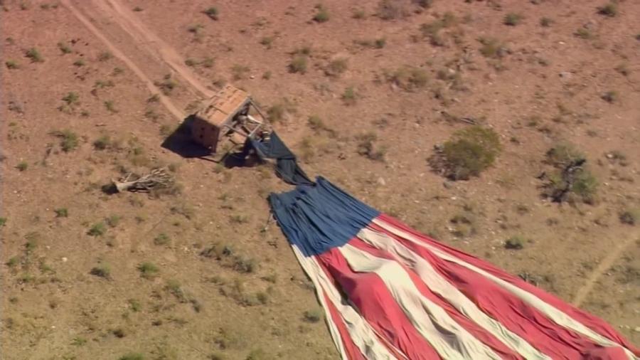 Nevada Hot Air Balloon Crash Sends 7 to Las Vegas Hospital