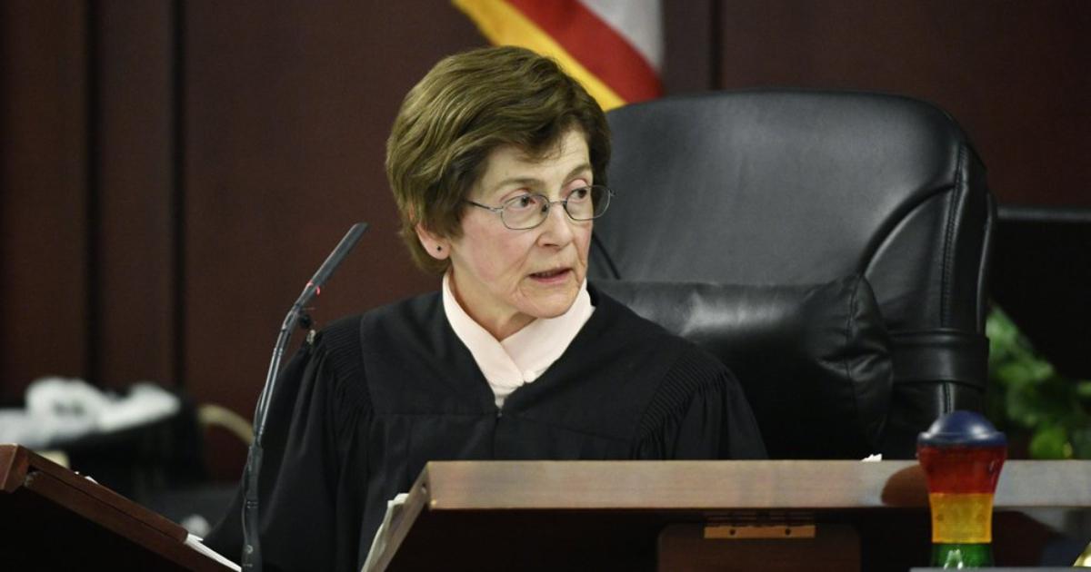 Judge Cheryl Blackburn listens to testimony