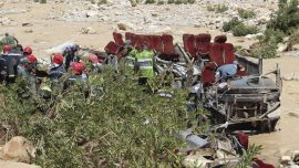 Report: 14 Dead Aboard Overturned Bus in Morocco Floods