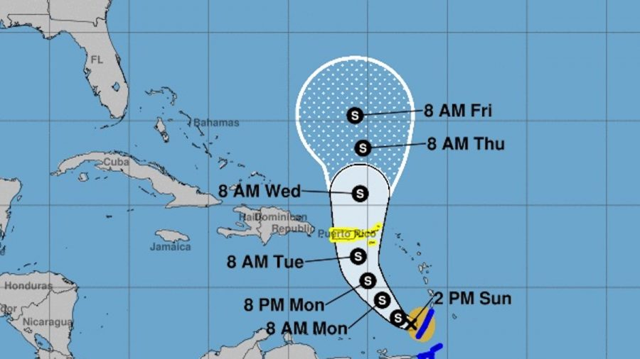 Puerto Rico Braces for Flooding, Landslides From Tropical Storm Karen