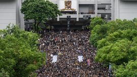 Hong Kong Students Boycott Class in Protest on First Day of School Year