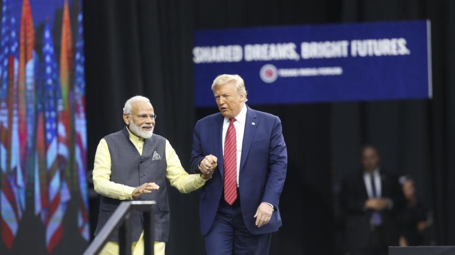 Modi Invites Trump to Rally in Show of Unity in Houston