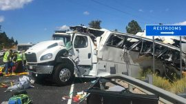Bus With Chinese-Speaking Tourists Crashes in Utah; 4 Killed