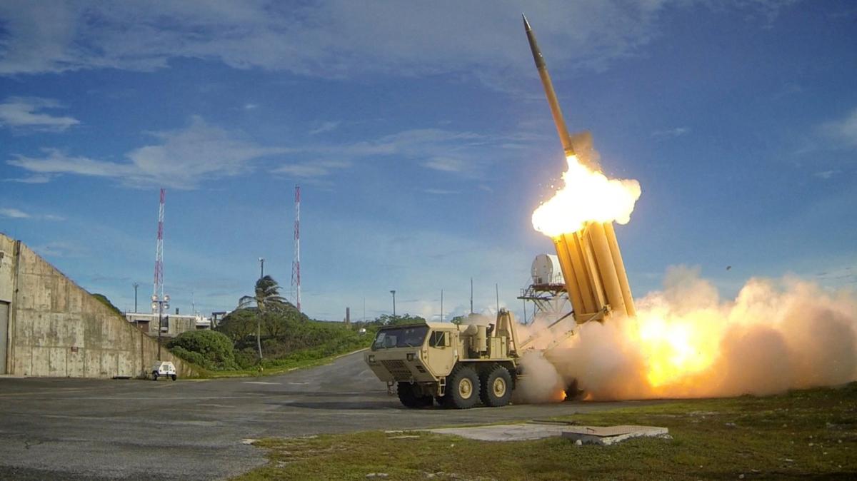 A US Patriot missile