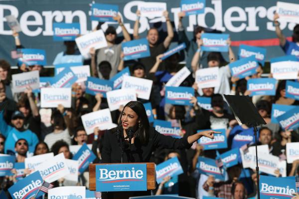 AOC endorses Sanders