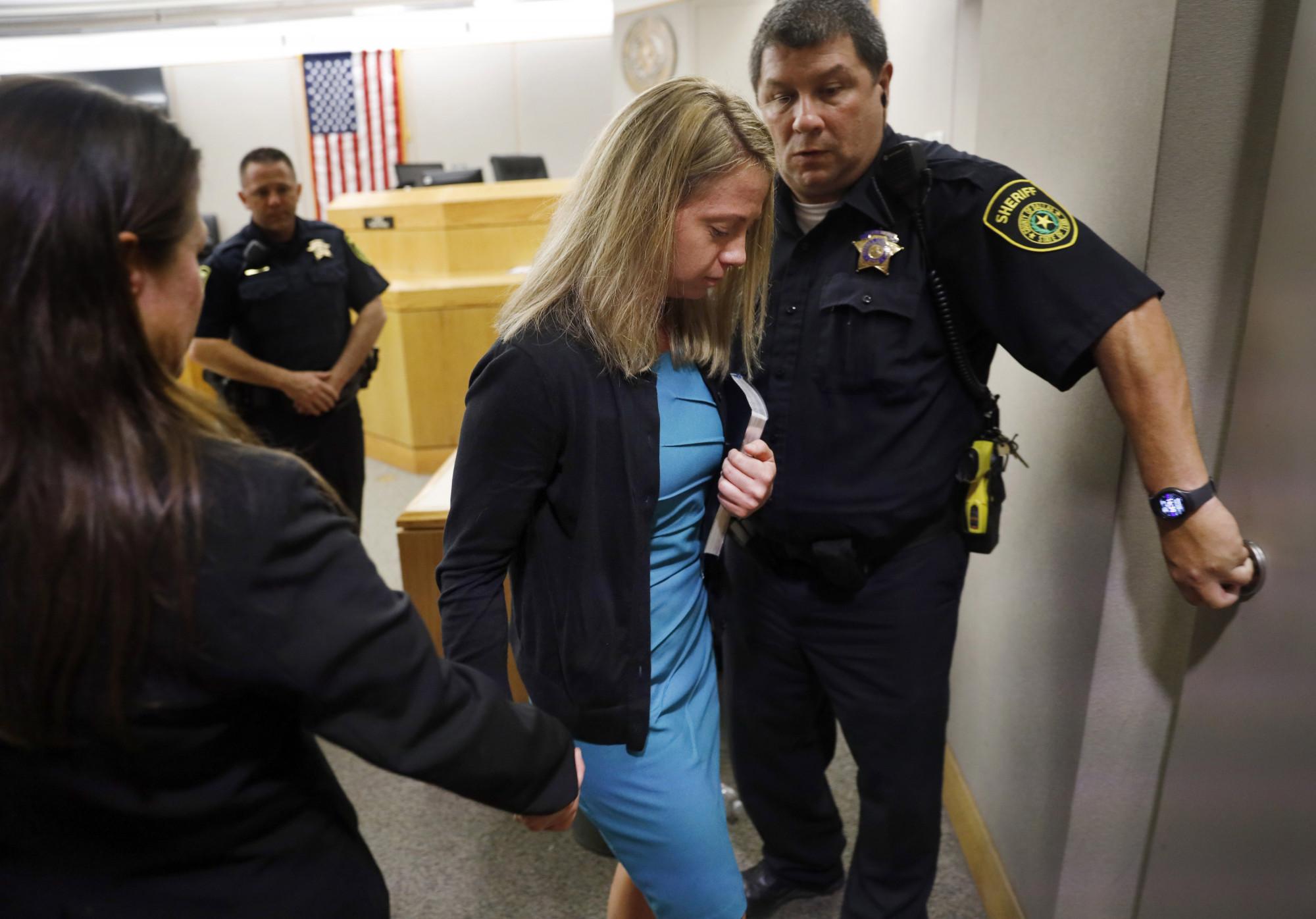 Amber Guyger after sentencing