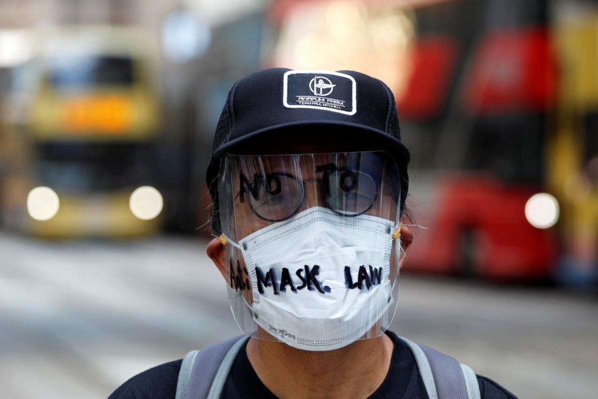 Anti-mask-law