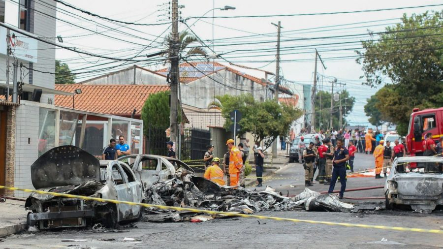 Small Plane Crashes in Brazilian Street Killing at Least 3 People: Firefighter