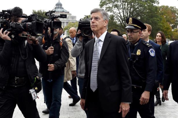 Acting U.S. ambassador to Ukraine Bill Taylor